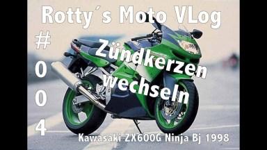 Kawasaki Ninja Zündkerzen und Luftfilter
