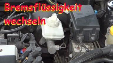 Opel Vectra B Bremsflüssigkeit