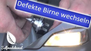 Opel Astra Glühbirne vorne