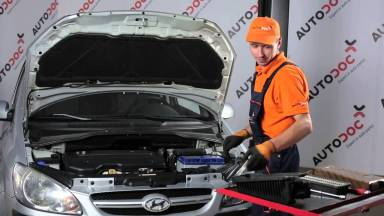 Hyundai Getz 1 Luftfilter