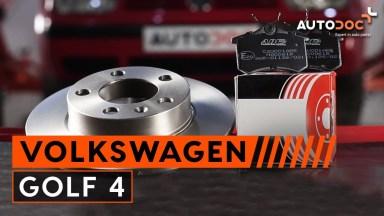 Volkswagen Golf 4 Bremsen hinten