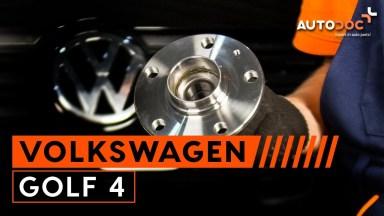 Volkswagen Golf 4 Radlager hinten