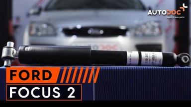 Ford Focus 2 Stoßdämpfer hinten