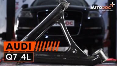 Audi Q7 4L einen hinteren unteren Querlenker