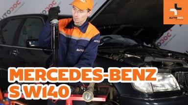 Mercedes-Benz S W140 Stoßdämpfer vorne