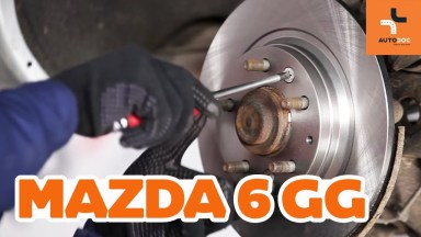 Mazda 6 Bremsen hinten