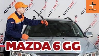Mazda 6 Scheibenwischer vorne