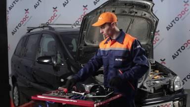 Opel Zafira A Stoßdämpfer vorne