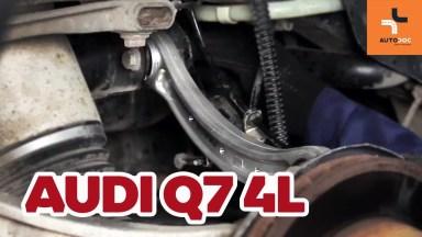 Audi Q7 4L Einzelradaufhändung des hinteren oberen Querlenkers