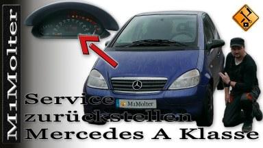 Mercedes A Klasse W168 Service