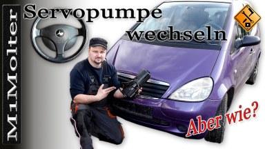 Mercedes A-Klasse Servopumpe