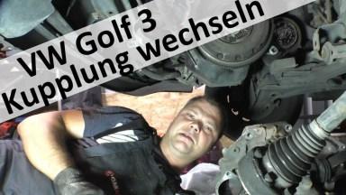 Volkswagen Golf 3 Kupplung