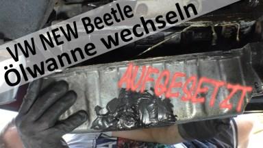 Volkswagen Beetle Ölwanne