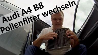 Audi A4 B8 Innenraumfilter