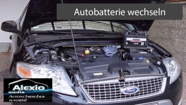 Ford Mondeo MK4 BA7 Batterie