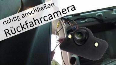 Seat Alhambra Rückfahrkamera