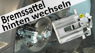 Audi A3 Bremssattel mit Bremsen hinten