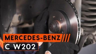 Mercedes C-Klasse W202 Bremsen vorne