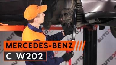 Mercedes-Benz C W202 Stoßdämpfer vorne