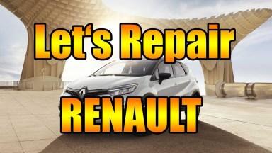 Renault Captur Bremsen vorne
