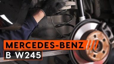 Mercedes-Benz B W245 Federn hinten