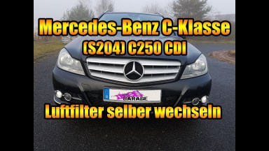 Mercedes Benz C-Klasse S204 Luftfilter