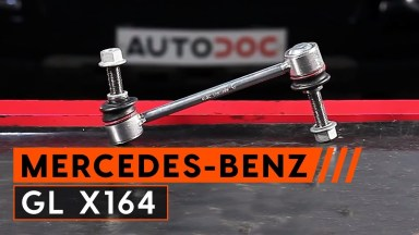 Mercedes GL X164 Koppelstange Pendelstütze vorne
