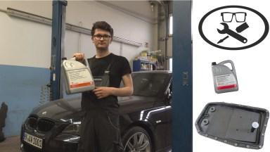 BMW 5er E60 Automatik Getriebeöl