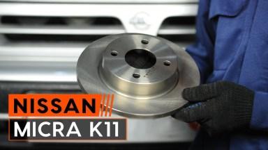 Nissan Micra 2 Bremsen vorne
