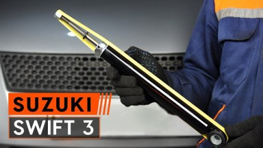 Suzuki Swift 3 Stoßdämpfer hinten
