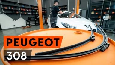 Peugeot 308 Scheibenwischer vorne