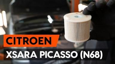 Citroen Xsara Picasso Kraftstofffilter