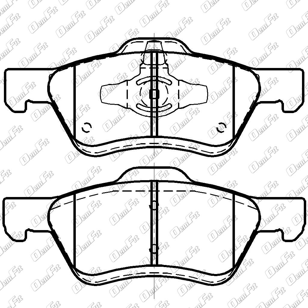 Category disc brake pad