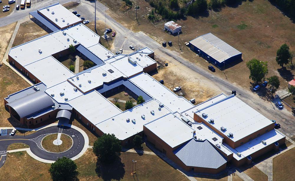 Calhoun County HS Mecklenburg Roofing Inc
