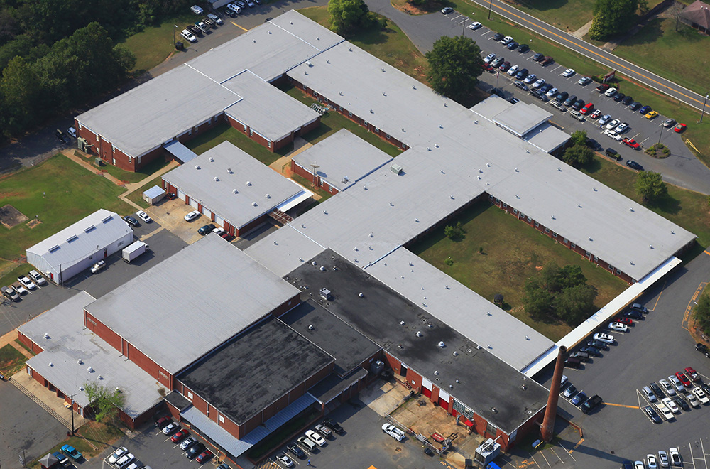 East Rutherford High School Mecklenburg Roofing Inc