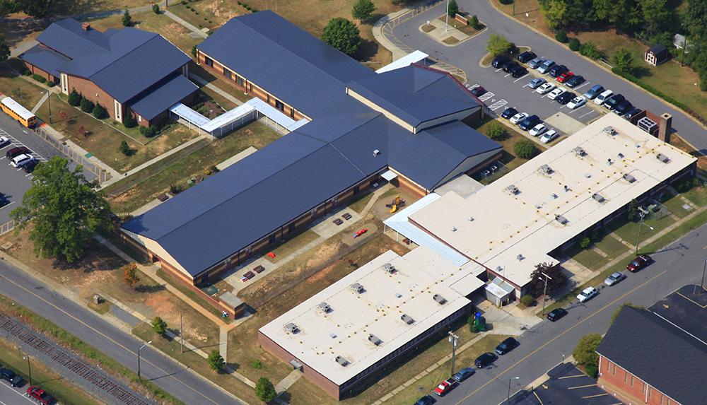 Lingerfeldt Elementary Mecklenburg Roofing Inc
