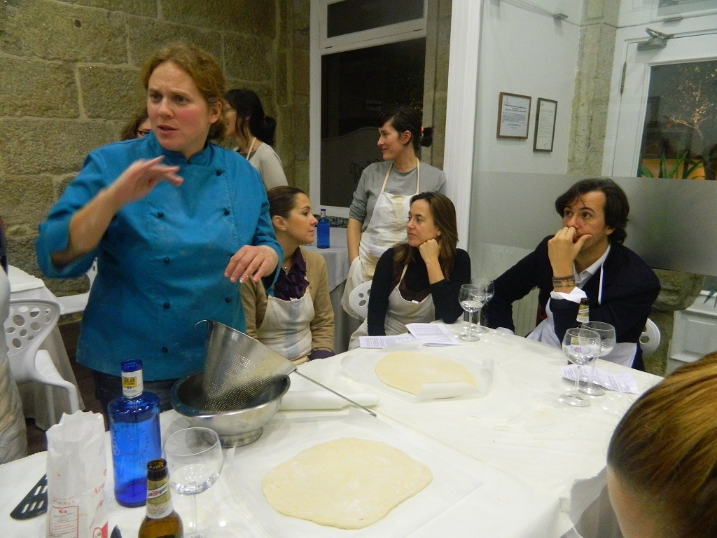 taller de pizza Anna Mayer
