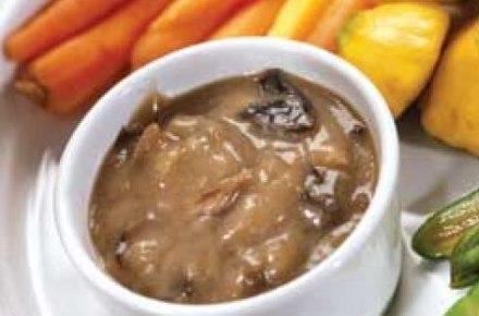 Грибной соус к овощам и мясу