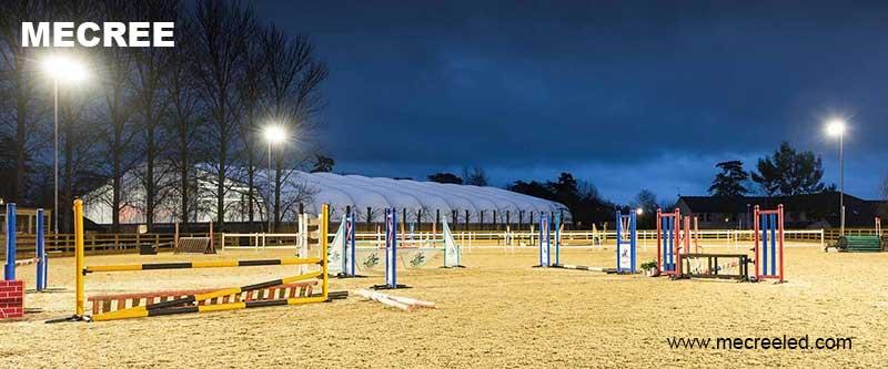 horse arena lights outdoor lighting
