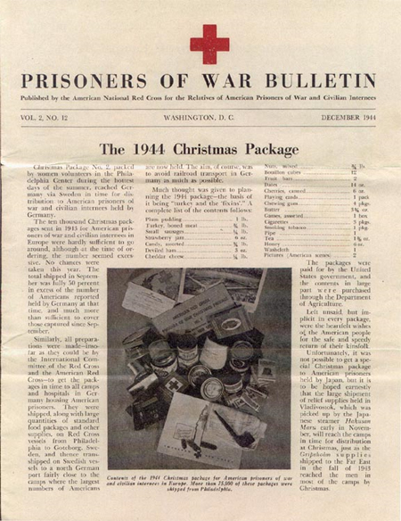 WW2 American Prisoner Of War Relief Packages WW2 US
