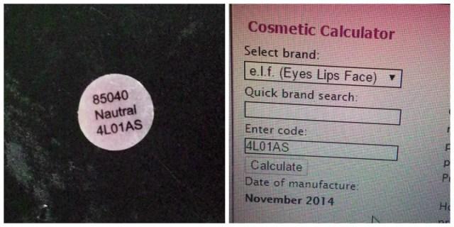 validade+maquiagem+importada+codigo+calculadora