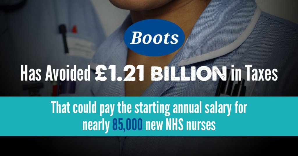 435cb007cebbc9 Tax abuse costs the UK economy £69.9 Billion a year – more than half of the  country's total annual healthcare spend.