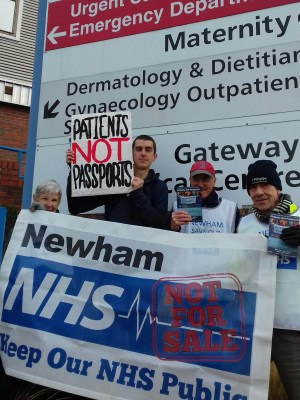 A Day of Action to End the Hostile Environment in the NHS