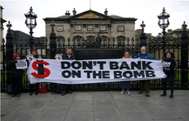 Stop Funding the End of the World – Don't Bank on the Bomb