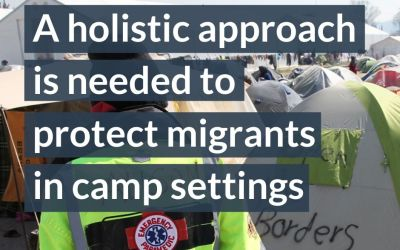 Exploring Migrant Access to Health: Part 2 – Prioritisation of COVID-19 testing: Migrant camps must not be forgotten