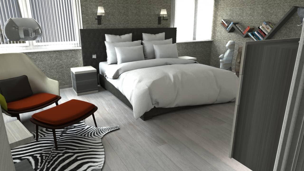 slaapkamerinrichting Interieurarchitect Genk