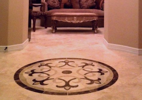 Make Your Home Stand Out With Floor Medallions Custom