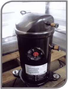 pool heater compressor