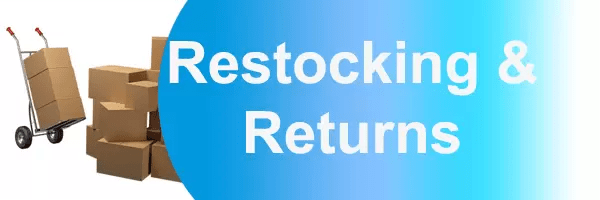 Medallion Energy Restocking and Returns Banner
