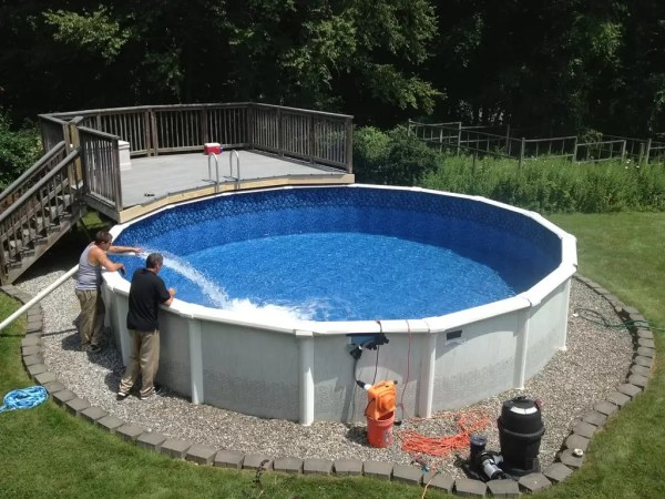 Above Ground Pool Cost Pros And Cons With Installation